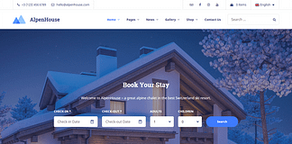 Alpenhouse - Hotel Booking WordPress Theme