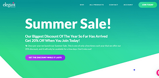 Elegant Themes Summer Sale Offer