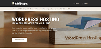 SiteGround - Reliable WordPress Hosting