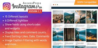 AccessPress Instagram Feed Pro - Premium Instagram Feed WordPress Plugin