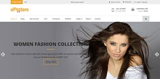 WP Store - Free WordPress WooCommerce Theme