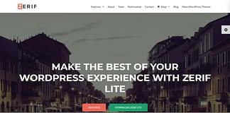 Zerif Lite - Best Free One Page WordPress Themes