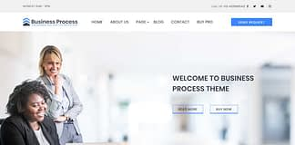 Business Process - Free WordPress Business Theme