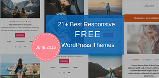 Best Free WordPress Themes June 2018
