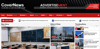 CoverNews - Free Magazine WordPress Theme