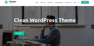 Master Business - Free Business WordPress Theme
