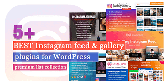 Best Instagram Feed and Gallery Plugins for WordPress