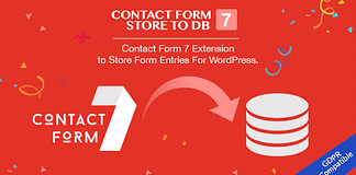 Contact Form 7 Store to DB - Contact Form 7 Addon to Store Form Entries