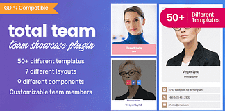 Total Team - Responsive WordPress Team Showcase Plugin