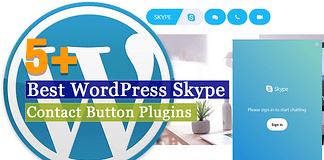 Best WordPress Skype Contact Button Plugins