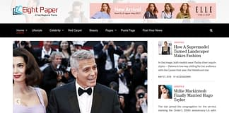 Eight Paper - Free WordPress News Magazine Theme