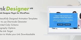 Link Designer Lite - Free WordPress Link Designer Plugin
