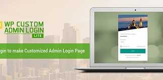 WP Custom Admin Login Lite -Free WordPress Login Page Customization Plugin