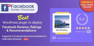Best WordPress Facebook Review Showcase Plugins: WP Facebook Review Showcase