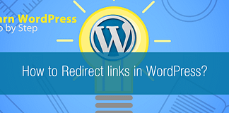 How to Redirect links in WordPress