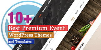 Best Premium Event WordPress Themes