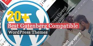Gutenberg Compatible WordPress Themes