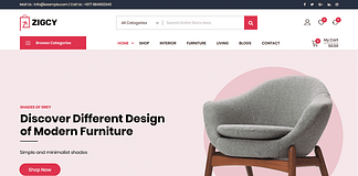 Zigcy – MultiConcept WooCommerce WordPress Theme