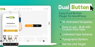 Eight Degree Dual Button - WordPress Dual Button Builder Plugin