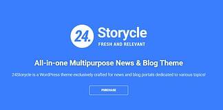 24.Storycle - Multipurpose News Portal Elementor WordPress Theme