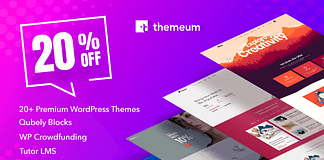 20% Off on Themeum