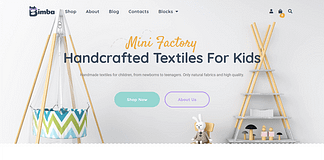 Bimba - Craft & Handmade WooCommerce WordPress Theme