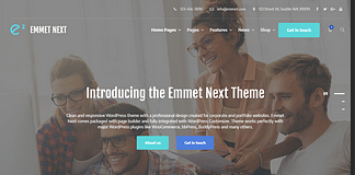 Emmet Next - Business WordPress Theme