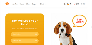 Petotel - Premium WordPress Pet Hotel Theme