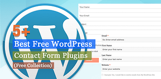 Best Free WordPress Contact Form Plugins
