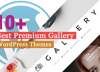 Best Premium Gallery WordPress Themes