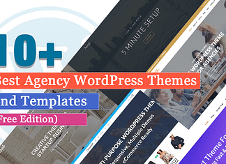 10+ Best Agency WordPress Themes and Templates Free