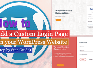 How to Add a Custom Login Page on WordPress Website? (Step by Step Guide)