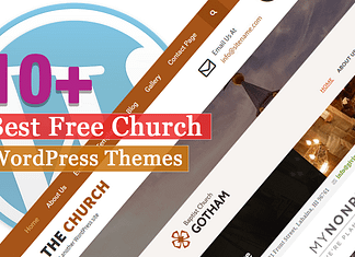Best Free Church WordPress Themes