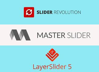 Slider Revolution vs LayerSlider vs Master Slider – Which is