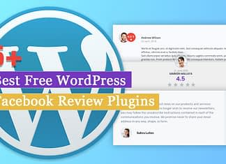 Best Free Facebook Review Plugins