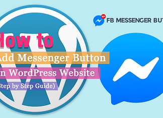How to Add Messenger Button on WordPress Website? | WPAll Club