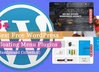 5+ Best Free WordPress Floating Menu Plugins | WPAll Club