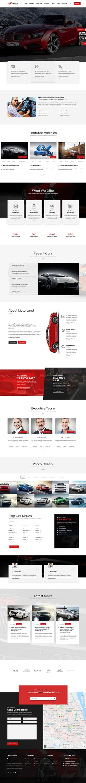 carena best premium automobile wordpress theme - 10+ Best Premium Automobile WordPress Themes