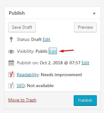 Hide a WordPress Page from Google.