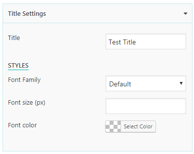 Everest Counter Lite: Title Settings