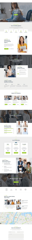 consultor best premium consultant wordpress theme - 10+ Best Premium Consulting WordPress Themes