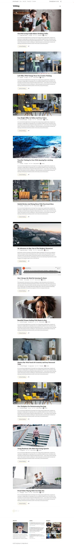 Writing Blog - Best Premium Responsive WordPress Theme