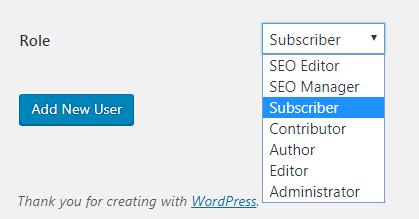 Add a new WordPress admin user.. - How do I add a new WordPress admin user?