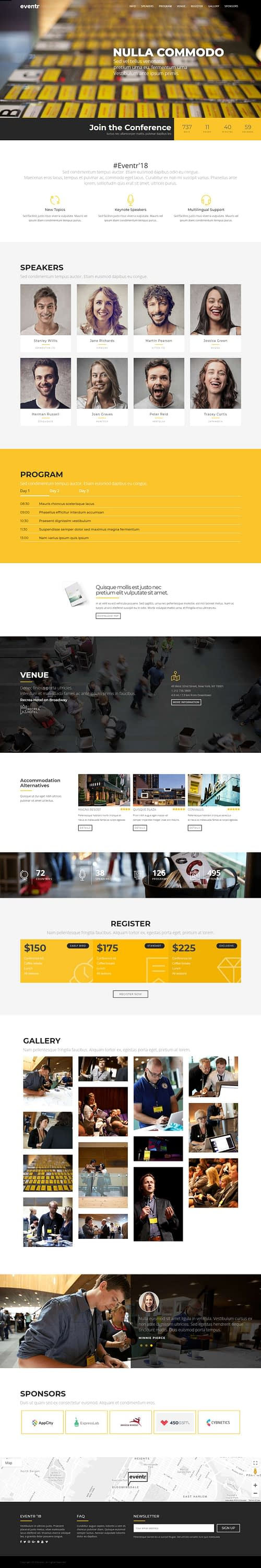 eventr best premium event wordpress theme - 10+ Best Premium Event WordPress Themes and Templates