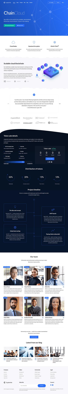 cryptonite best premium cryptocurrency wordpress theme - 10+ Best Premium Cryptocurrency WordPress Themes