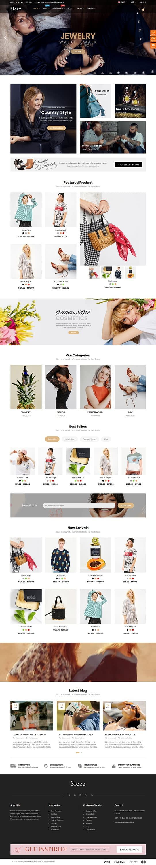 siezz best premium marketplace wordpress theme - 10+ Best Premium Marketplace WordPress Themes