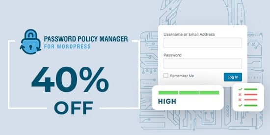Password Policy Manager - Black Friday Cyber Monday Deal