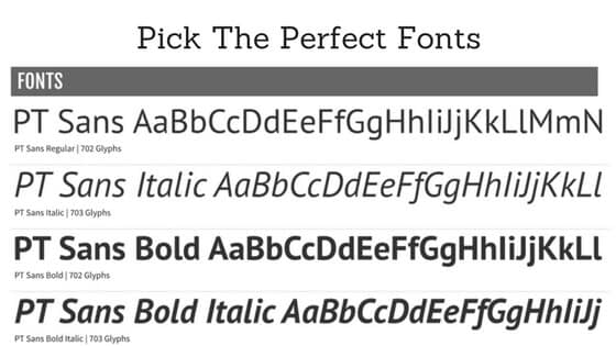 Pick Perfect Font With These Guidelines