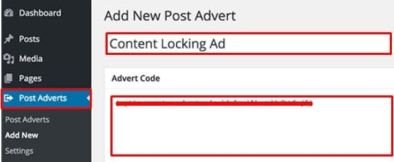 Add Content Locking to all WordPress Posts.
