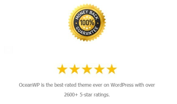 50% Off on all Subscription Plan of OceanWP Theme